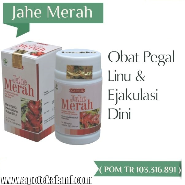 obat herbal jahe merah