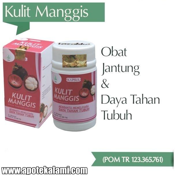 obat herbal kulit manggis