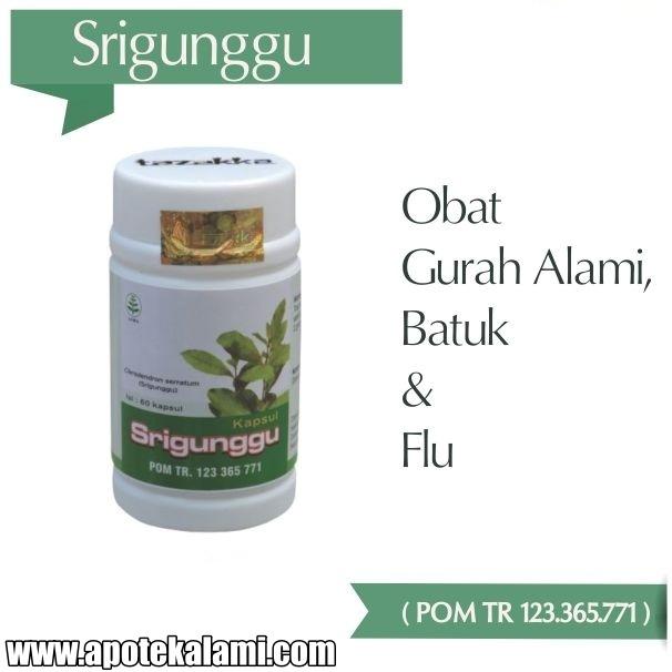 obat herbal srigunggu