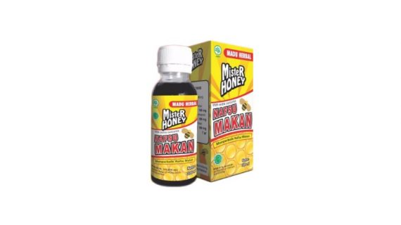 Madu Herbal Mister Honey Menambah Nafsu Makan
