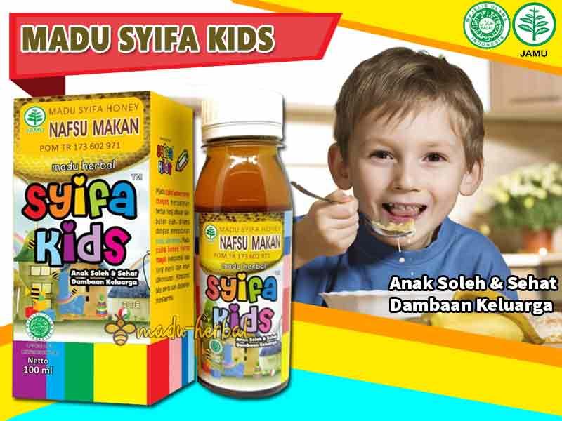 madu syifa kids nafsu makan