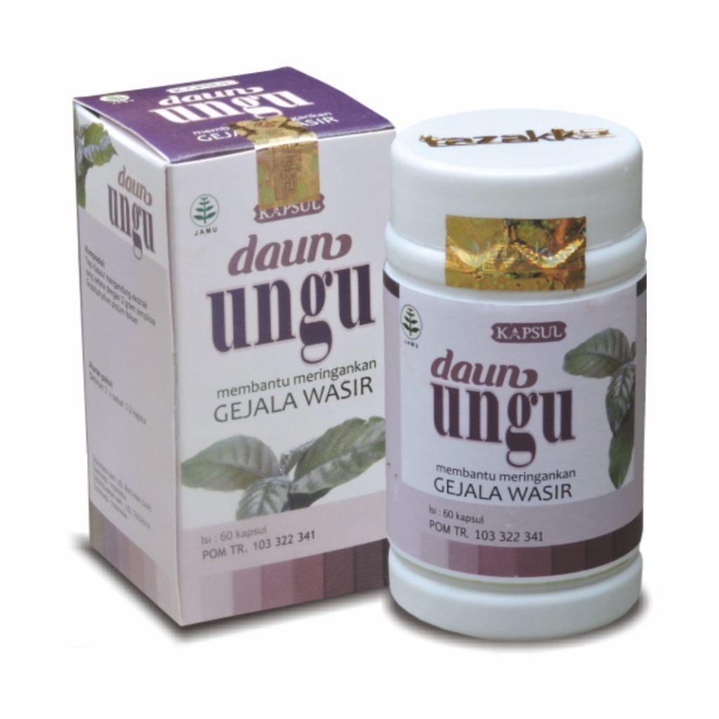 obat herbal daun ungu
