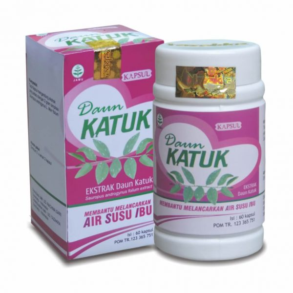obat herbal daun katuk